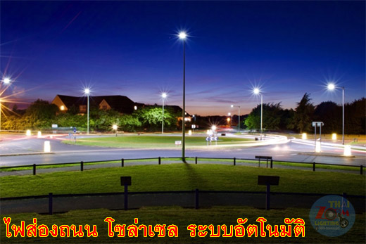 Solar Street Light CREED SMD 30W Solar Panel