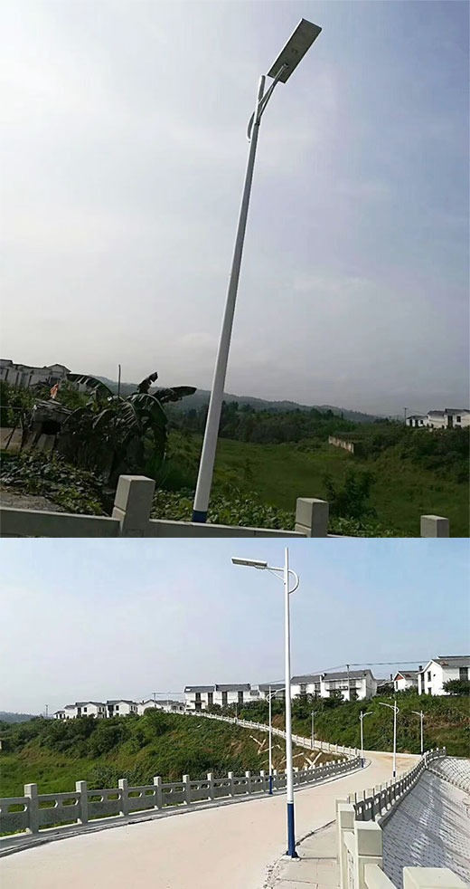 Solar Street Light CREED SMD Solar Panel